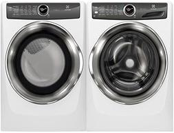 """Electrolux White Front Load Laundry Pair with EFLW427UIW 27"""""""