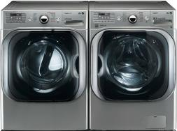 LG WM8100HVA_DLEX8100V ELECTRIC MEGA CAPACITY LAUNDRY PAIR